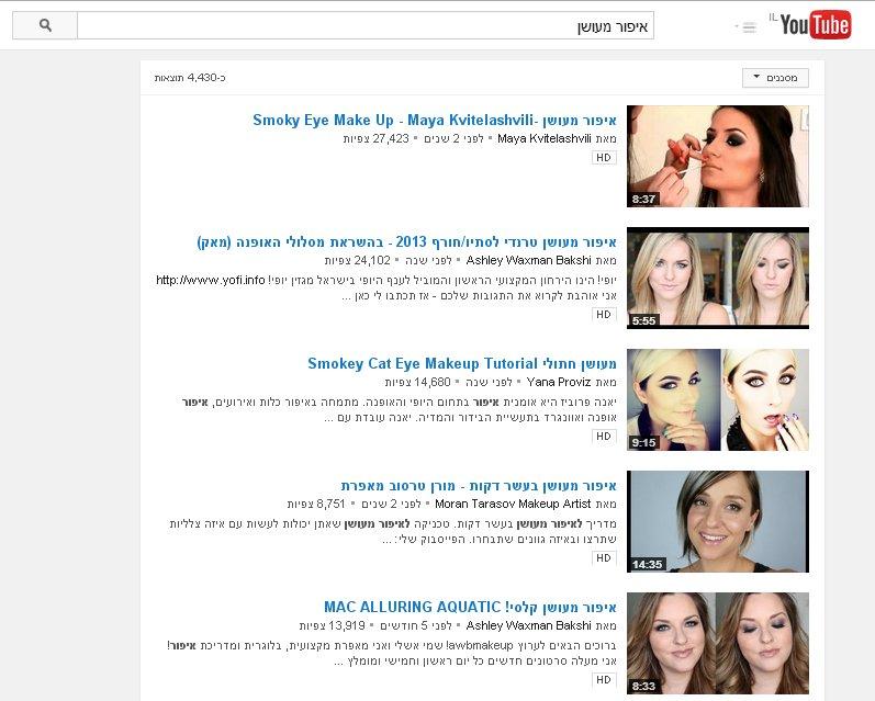 אופטימיזציה לכותרת הסרטון ב – YouTube